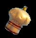 Goldene Kochmütze